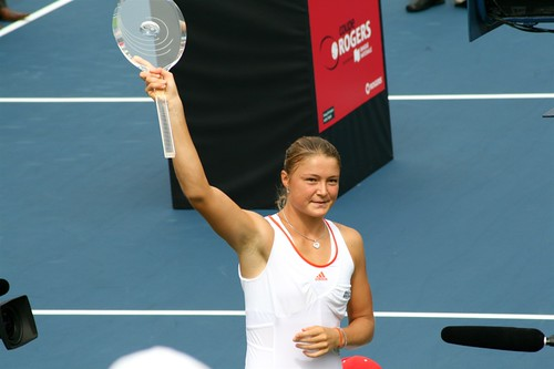 Dinara Safina - the winner of the Rogers «Cup»