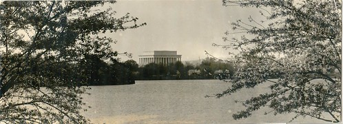 Postcard of the Lincoln Memorial c.1922, National Trust Collections at Chesterwood Estate & Museum