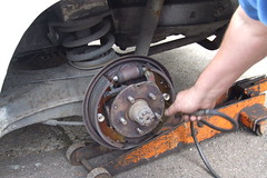 VW T25 Brakes DIY repair #7