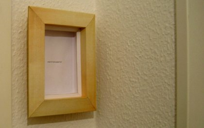 Bilderrahmen aus Papier