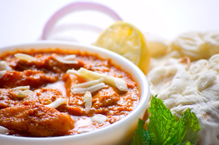 Free Stock Photo - Indian Curry Meal - Paneer Butter Masala/Butter Chicken