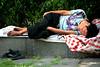 IMG_7387a (Sam's Exotic Travels) Tags: china sleeping people man relax dirty barefoot zhejiangprovince prc asleep ningbo sams travelphotos samsays samsexotictravelphotos exotictravelphotos samsayscom