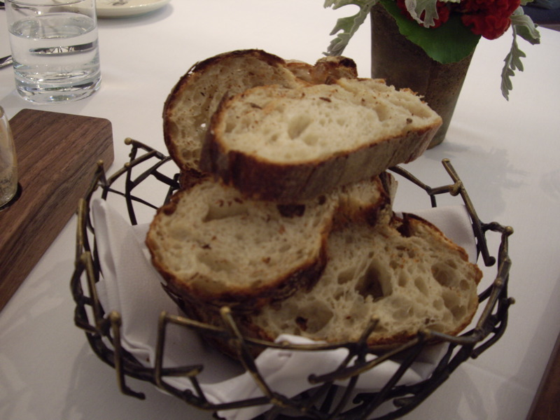 Warm fresh farm bread