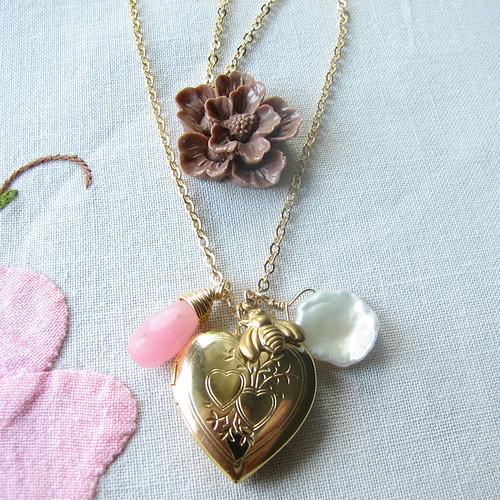 Bee's Knees necklace