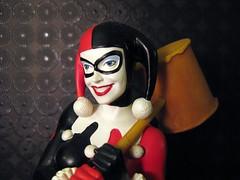 Women of the DC Universe (,,,^..^,,,) Tags: canon toys adamhughes dccomics harleyquinn canonpowershot harleyquinnbust womenofthedcuniverse canonpowershotsd1100is
