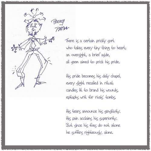 prickly poem
