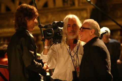 Jagger con Scorsese