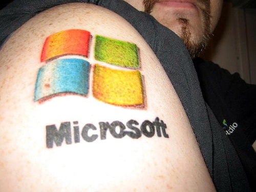 Tatoo de Microsoft Windows