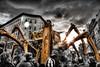 La Machine (BarneyF) Tags: liverpool robot spider hdr artichoke 08 selectivecolor merseyside capitalofculture artlibre lamachine aplusphoto