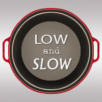 low and slow graphic