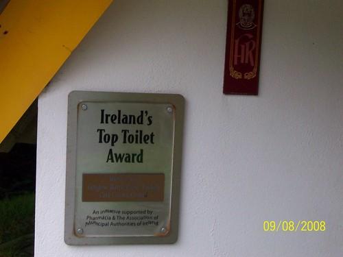 Ireland - Gougane Barra - Ireland's Best Public Toilet