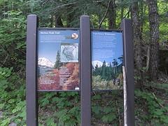 Shriners Peak trailhead.