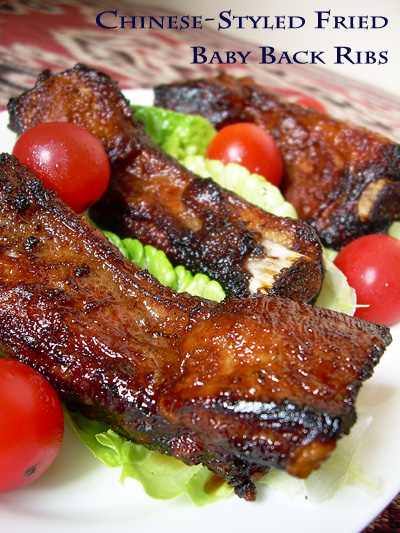Simple Recipe for Baby Back Ribs   Delicious Asian Food