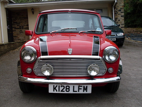 1993 Flame Red Mini Italian Job Special Edition 3; ← Oldest photo