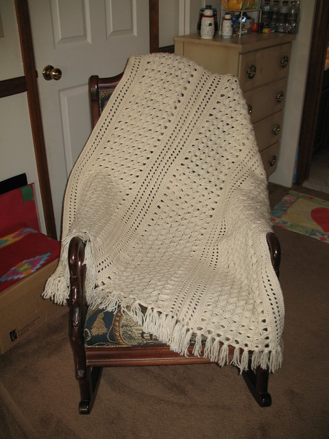 Ravelry Broomstick Lace Afghan Pattern By Leisure Arts
