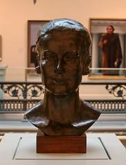 Grace Kelly (cliff1066) Tags: art bronze washingtondc performingarts monaco actress nationalportraitgallery gracekelly princessgrace portraitgallery korstiaanverkade