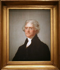 Thomas Jefferson (The Edgehill Portrait), Third President (1801-1809) (cliff1066) Tags: portrait president thomasjefferson nationalportraitgallery portraitgallery uspresident presidentialportrait gilbertstuart americaspresidents edgehillportrait