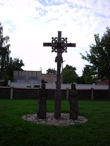 Lithuanian wood crosses