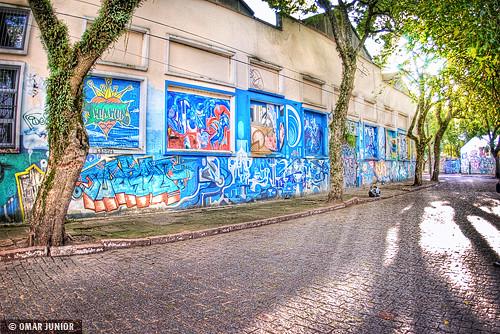 Graffiti (Rua Délcio Martins Costa)