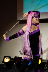 Night/Rider (yeshayden) Tags: girl cosplay chain rider medusa blindfold fatestaynight manifest2008