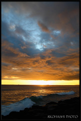 Kaka'ako Sunset 9.29.2008 ([ Royster ]) Tags: kakaako neverbeenthere