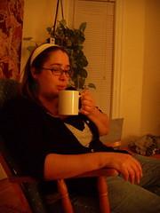 caruso cools it down (christine...elizabeth...) Tags: autumn elizabeth hangingout actionshot