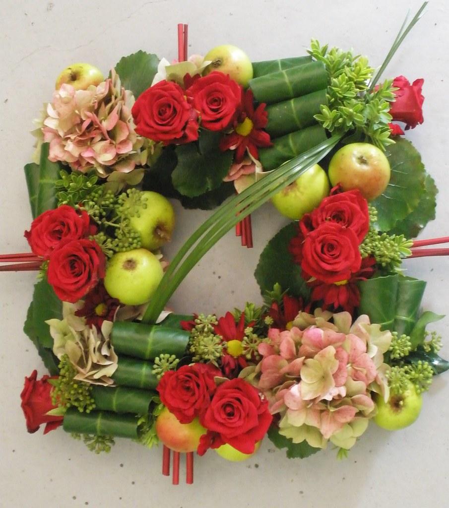 Flower arranging class......