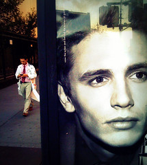 """""""The model and the doctor"""" (Sion Fullana) Tags: portrait newyork beauty ads models creative streetphotography doctor characters beautifulmen allrightsreserved 7thavenue iphone malemodels imitationoflife malebeauty bej abigfave saintvincenthospital cutedoctor iphonephotography theperfectphotographer maledoctor sionfullana manandad sionfullanaphotography fotografasdesionfullana iphoneography iphoneographer sionfullana throughthelensofaniphone"""