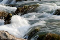 (Tikke Sang) Tags: water stone river nikon iran wave     d80  zayanderoud   tikkesang