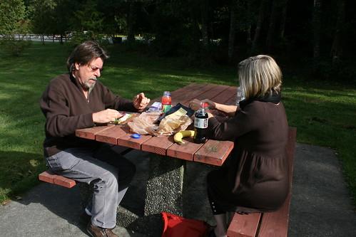 rest stop picnic