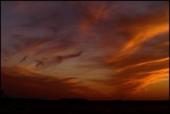 Kaos (Kirsten M Lentoft) Tags: sunset sky lake silhouette clouds denmark fire blueribbonwinner fpg abigfave arresø infinestyle citrit kirstenmlentoft