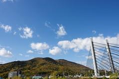 藻岩山とミュンヘン大橋