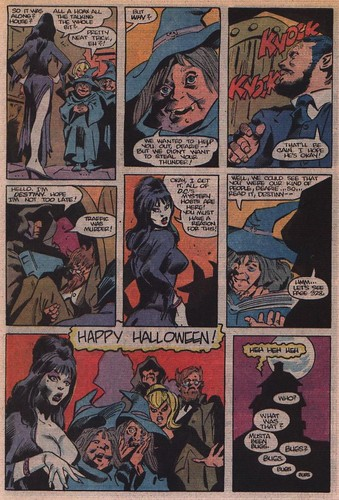 Elvira's House of Mystery page 5