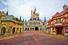 Magic Kingdom - Fantasyland Morning (Matt Pasant) Tags: castle canon rebel florida magic tinkerbelle wed celebration explore dreams wishes mickeymouse cinderella orangecounty wdw waltdisneyworld magickingdom fantasyland waltdisney wdi imagineer sirmickeys reedycreek waltdisneyworldresort yearofamilliondreams topazadjust