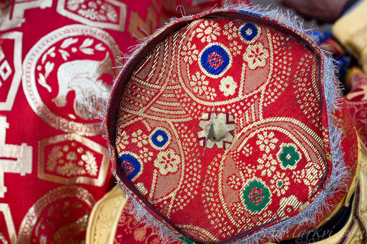 Hat, Meskel, Addis Ababa, Ethiopia, 2008