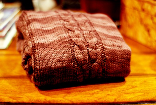 Sweater Folded