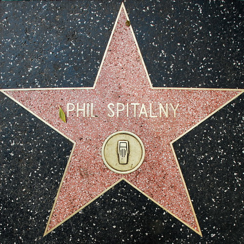Phil Spitalny's Walk of Fame Star