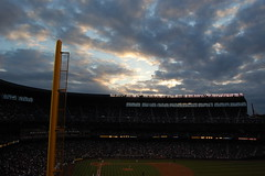 sky (OHbagpipes) Tags: seattle mariners safeco