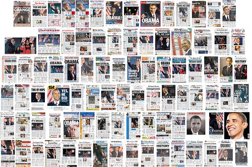 Obama Newspaper Covers