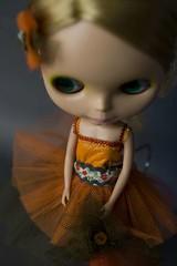 Greta in orange