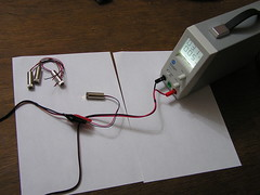 Bench Top Power Supply - Testing Laser