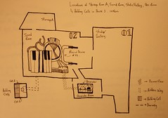 Map of Ficticious Gallery/Studio/Penitentiary