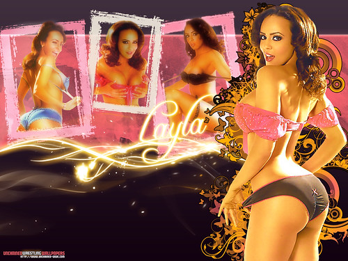 wwe logo wallpaper. WWE Layla Wallpaper