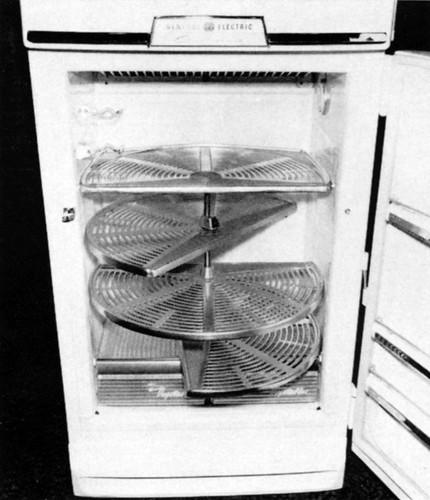 ge refrigerator 1954