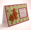 Origami Reindeer Card