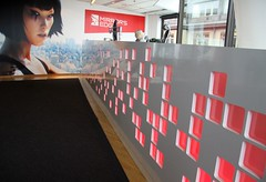 DICE reception (jontintinjordan) Tags: dice mirror mirrors edge mirrorsedge