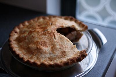 Chunky Pear Pie