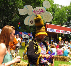 RC Cola and Moon Pie Festival: Balloon animal guy
