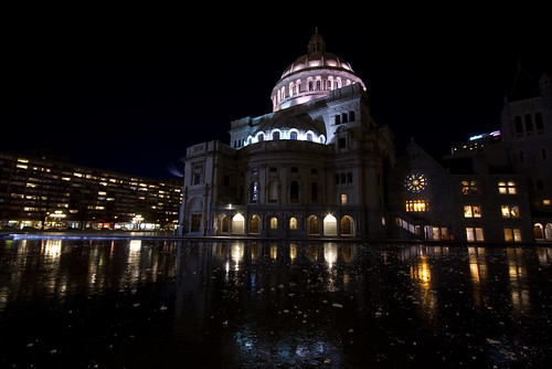 Christian Science Mother Church Plaza