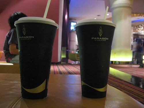 Premium plastic cup for soft drinks